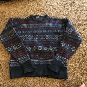 Vintage Wool Allen Solly Ugly Sweater